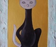 black-silver-cat