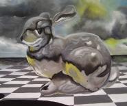 Bunny in heaven
